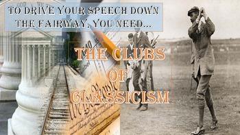 Speech Writing:  Persuasive Tools JUMBO PowerPoint