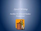 Speech Writing PowerPoint Slideshow