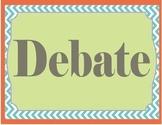 Speech and Debate- Word Wall