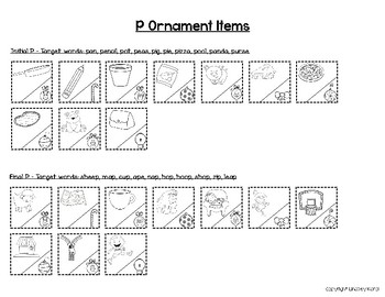 Speech and Language Activities for Mixed Groups: Ornaments on Trees
