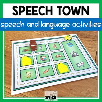Road-Themed Speech and Language Smash Mats