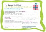 Speech and Language Advent Calendar