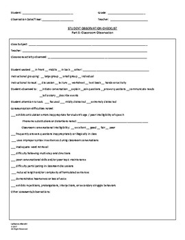 Speech and Language Assessment Bundle