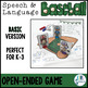 Speech and Language Baseball