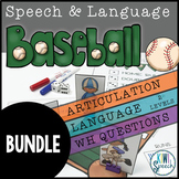 Speech and Language Baseball BUNDLE