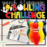 Speech and Language Bowling Challenge