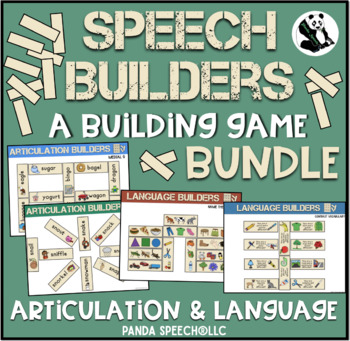 Speech and Language Builders BUNDLE: