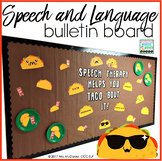 Bulletin Board for Speech and Language (TACO style!}