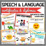 Speech & Language Certificates & Diplomas Bundle