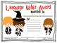 Speech and Language Certificates {Pack 2!}