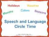 Speech and Language Circle Time