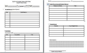 Speech and Language/Communication Status: Report to School Teams