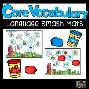 Core Vocabulary Smash Mats