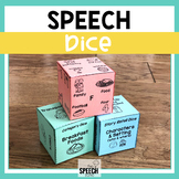 Speech and Language Dice Activity