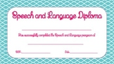 Speech and Language Diploma FREE
