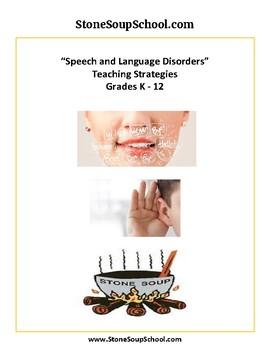 Speech and Language Disorders Teaching Strategies