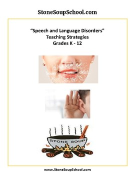 Speech and Language Disorders Teaching Strategies