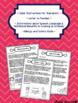Speech and Language Family Homework Cookbook Bundle