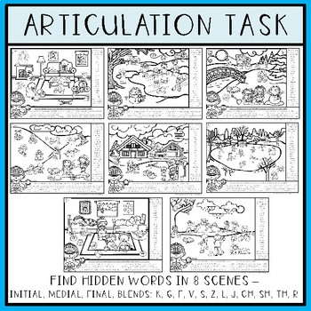 Speech and Language Find and Follow: Winter
