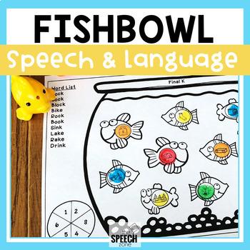 Speech and Language Fish Dot-It Activity