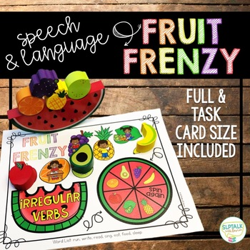 Fruit Frenzy Balance Game Companion for Speech Therapy