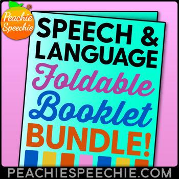 Speech and Language Fun Foldables BUNDLE