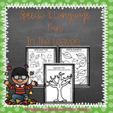 Speech and Language Fun in the Leaves