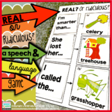 Speech and Language Game | Real OR Ridiculous?