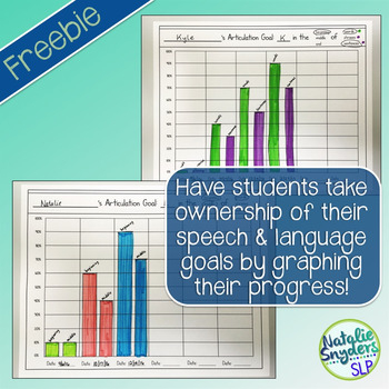 Speech and Language Goal Progress Graphs for SLPs