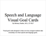 Speech and Language Goal Tags/Targets