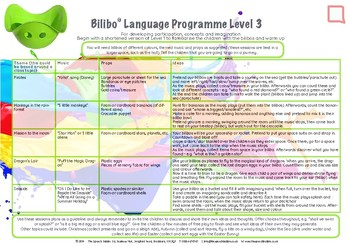 Speech and Language Group Activities with BILIBOS