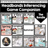 Speech Therapy Making Inferences: Hedbanz Companion Growing Bundle