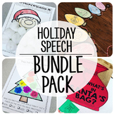 Speech and Language {Holiday Bundle}