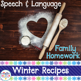 Speech and Language Homework Cookbook: Winter Family Recipes