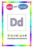Speech and Language Initial 'D' resources linked to Colour