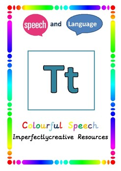 Phoneme 'T' resources - Initial, Medial and End Position