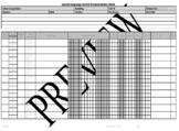 Speech and Language Medicaid Billing Data Sheet Editable