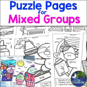 Back to School Speech and Language for Mixed Groups