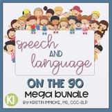 Speech and Language On the Go Mega Bundle