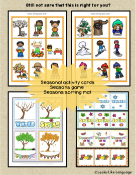 Speech & Language Activities- Squirrel & Acorn Games & Crafts for Fall