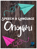 Speech and Language Origami