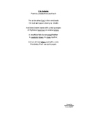 Speech and Language Poem Packet 2