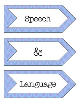 Speech and Language - Poster & Banners
