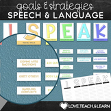 Speech and Language Posters / Anchor Charts