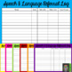 Speech and Language Referral Logs: Multi-Colored