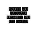 Speech and Language Resource and RtI Packet