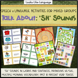 Speech and Language Picture Activities for Mixed Groups Talk About SH Sounds