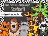 Wildlife Speech and Language Activities