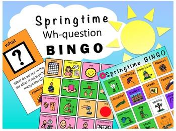 Speech and Language Spring Activities Bundle!