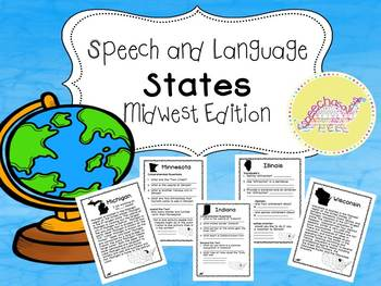 Speech and Language States: Midwest Edition